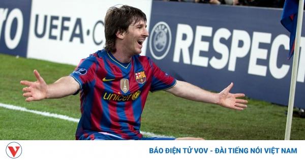 Ngày này năm xưa: Messi lập kỷ lục không tưởng ở tứ kết Champions League | VOV.VN
