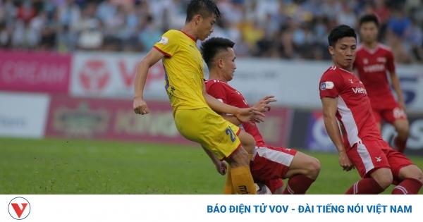 Lịch thi đấu bóng đá hôm nay 17/4: Nóng bỏng derby xứ Nghệ   VOV.VN