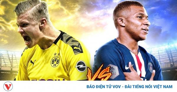 Vua phá lưới Champions League 2020/2021: Haaland & Mbappe vượt trội   VOV.VN