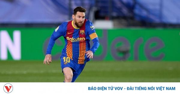 Hơn 1000 ngày Messi không ghi bàn ở El Clasico | VOV.VN