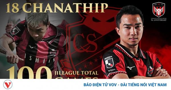 """""""Messi Thái"""" Chanathip cán mốc 100 trận đấu tại J-League"""