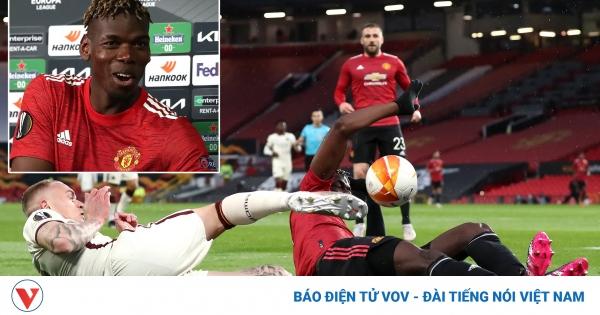 MU thắng đậm AS Roma, Pogba vui vẻ pha trò về sai lầm dẫn tới penalty
