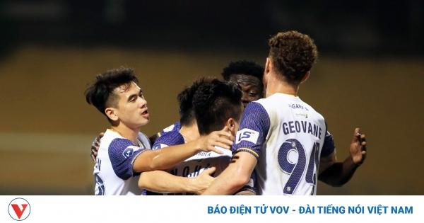 TRỰC TIẾP Hà Nội FC 3-0 Quảng Ninh: Siêu phẩm ở Hàng Đẫy | VOV.VN