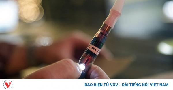 Thuốc lá điện tử gây hại cho sức khỏe như thuốc lá điếu | VOV.VN