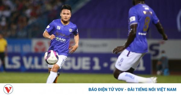 TRỰC TIẾP Hà Nội FC - Than Quảng Ninh: Quang Hải đá chính | VOV.VN