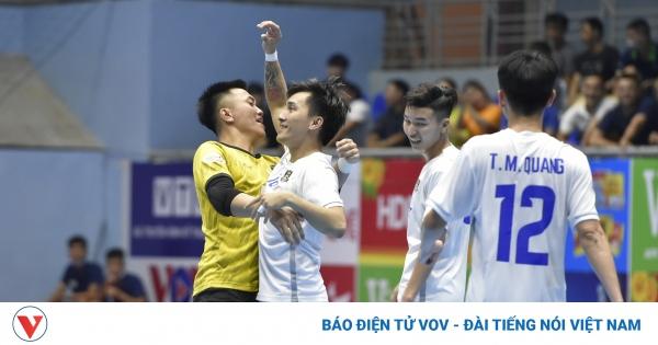 Giành chiến thắng muộn kịch tính, Thái Sơn Bắc lọt vào tốp đầu | VOV.VN