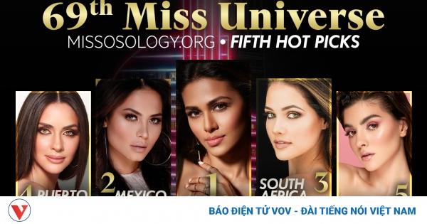 Những gương mặt sáng giá được kỳ vọng sẽ đăng quang Miss Universe 2020 | VOV.VN