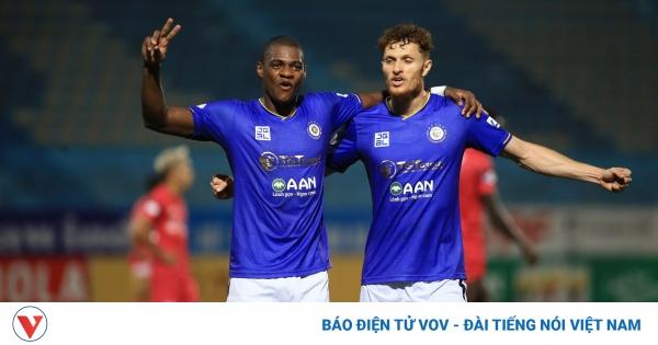 Đánh bại Sài Gòn FC, Hà Nội FC nuôi hy vọng vào tốp 6 | VOV.VN