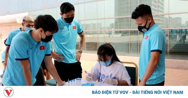 HLV Park và dàn sao ĐT Việt Nam tiêm mũi vaccine thứ 2 ngừa COVID-19 | VOV.VN
