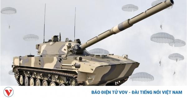 Uy lực pháo tự hành chống tăng đột kích đường không của Nga | VOV.VN
