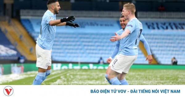 TRỰC TIẾP Man City 2-0 PSG: Dấu chấm hết cho đội khách!!  | VOV.VN