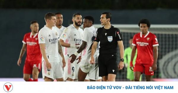 Bảng xếp hạng La Liga mới nhất: Real Madrid ném đi cơ hội vàng | VOV.VN