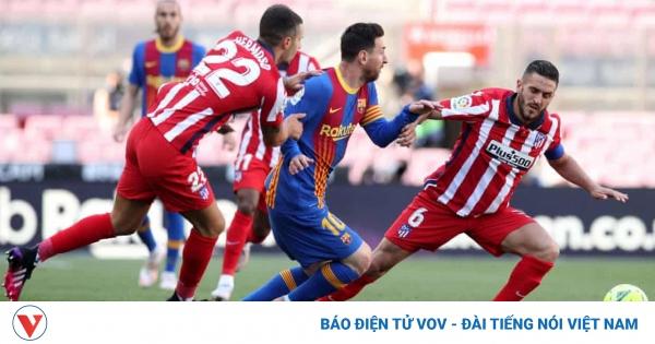 Tường thuật Barca 0-0 Atletico Madrid: Real Madrid có cơ hội chiếm ngôi đầu La Liga