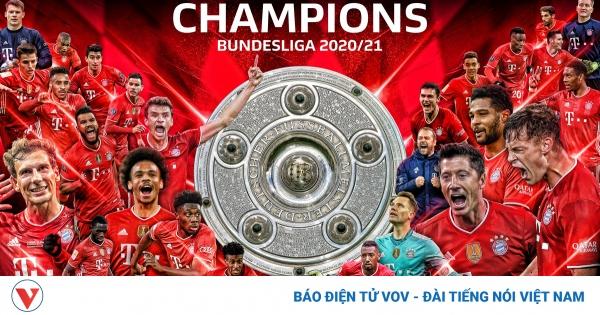 Dortmund đưa Bayern Munich lên ngôi vô địch Bundesliga