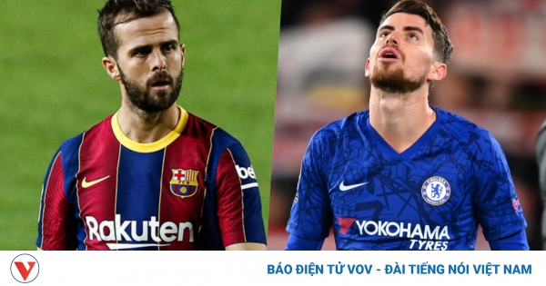 Barca dùng Miralem Pjanic gạ Chelsea đổi Jorginho | VOV.VN