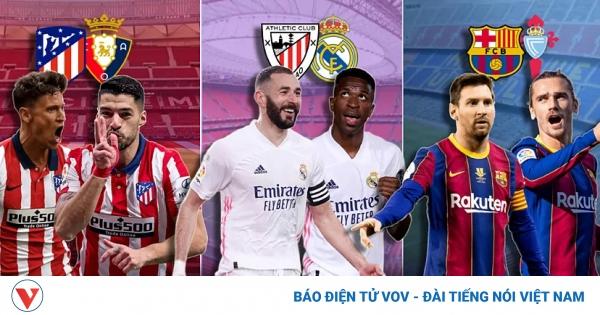 Barca tự loại mình khỏi cuộc đua vô địch, Atletico và Real đua song mã   VOV.VN