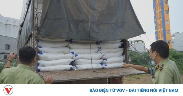 Công an TPHCM truy tìm chủ lô hàng 150 tấn đường nghi nhập lậu | VOV.VN
