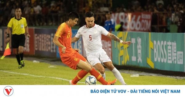 ĐT Philippines quyết thắng Trung Quốc để vào vòng loại thứ 3 World Cup 2022  | VOV.VN
