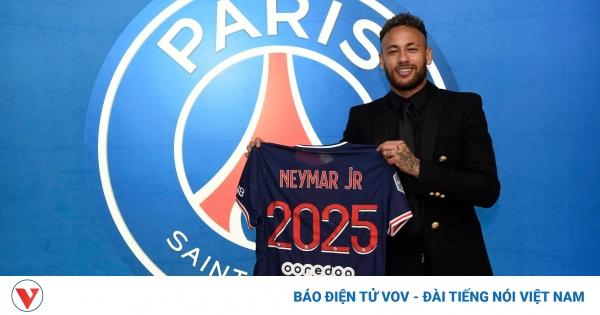 """PSG chính thức """"trói chân"""" Neymar tới năm 2025"""