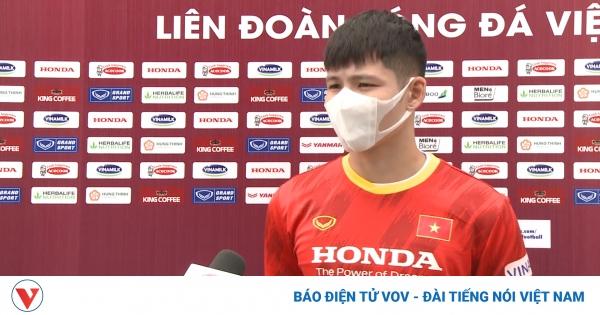 Tuyển thủ U22 Việt Nam nói gì khi luyện tập giữa trưa?  | VOV.VN