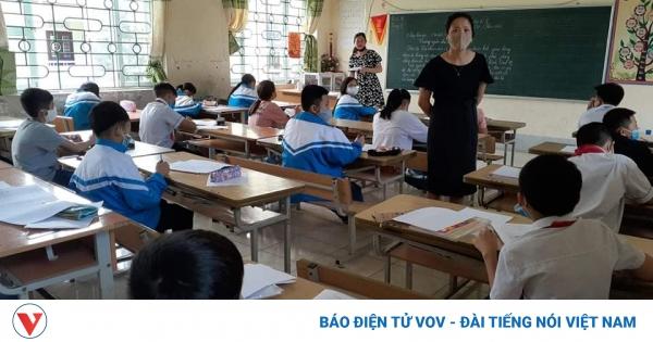 Nhiều trường tiểu học ởĐiện Biênthi gấp để phòng, chống dịch bệnh Covid-19   VOV.VN