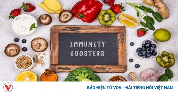 Thực phẩm tăng cường miễn dịch mùa COVID-19 | VOV.VN