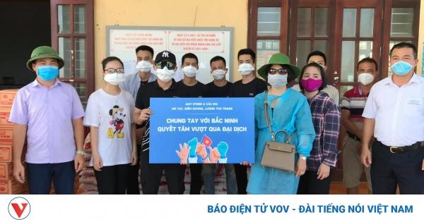 Việt Anh, Thu Trang... kêu gọi, ủng hộ Quỹ vaccine phòng Covid-19 | VOV.VN