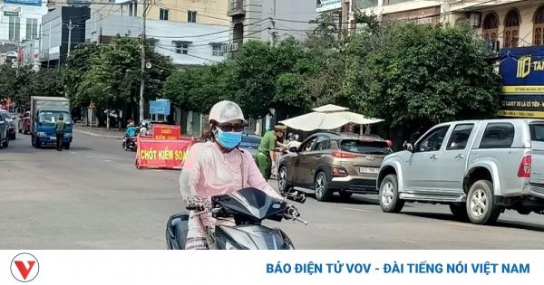 Bình Thuận dừng hết hoạt động các chốt kiểm soát dịch ở Phan Thiết vào ngày 19/10