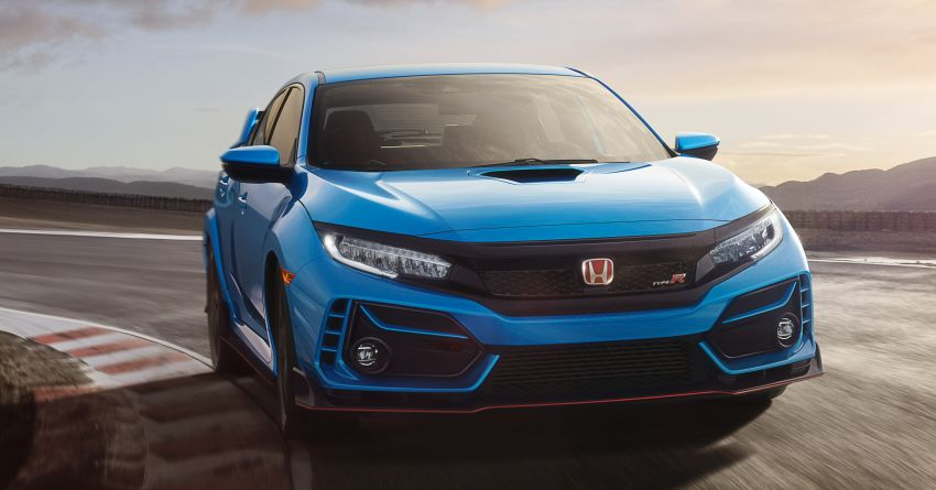 2020 Honda Civic Type R gets featured in new video Image #1109182